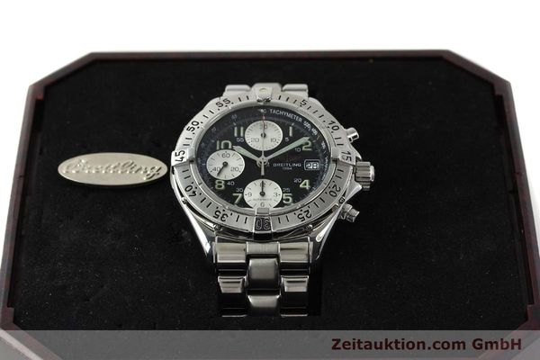 Used luxury watch Breitling Colt chronograph steel automatic Kal. B13 ETA 7750 Ref. A13035  | 143030 07