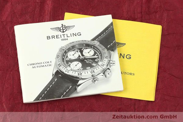 Used luxury watch Breitling Colt chronograph steel automatic Kal. B13 ETA 7750 Ref. A13035  | 143030 13
