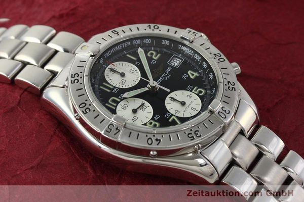 Used luxury watch Breitling Colt chronograph steel automatic Kal. B13 ETA 7750 Ref. A13035  | 143030 15