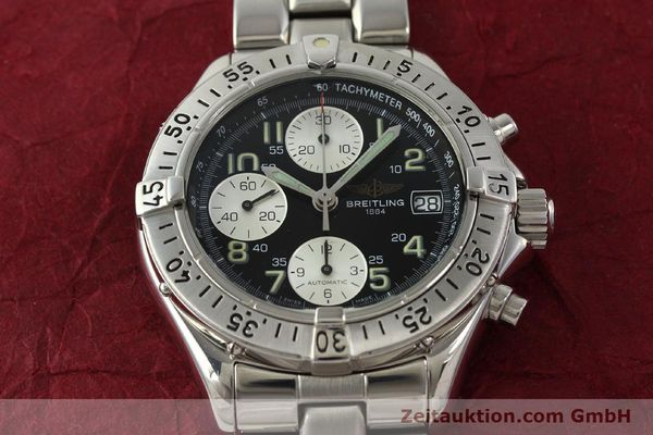 Used luxury watch Breitling Colt chronograph steel automatic Kal. B13 ETA 7750 Ref. A13035  | 143030 16