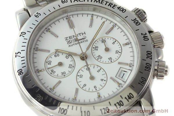 Used luxury watch Zenith Elprimero chronograph steel automatic Kal. 400 Ref. 02.0360.400  | 143031 02