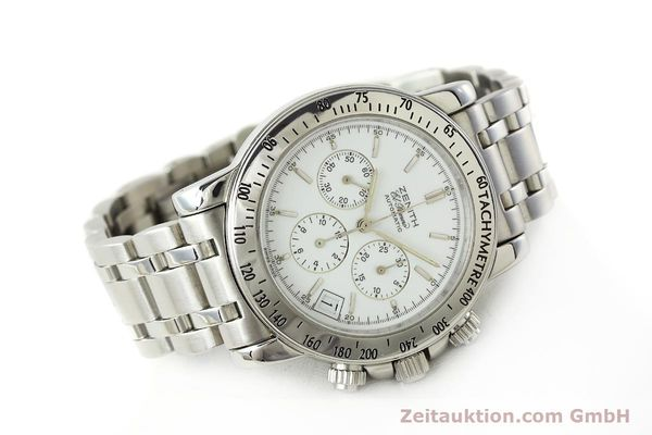 Used luxury watch Zenith Elprimero chronograph steel automatic Kal. 400 Ref. 02.0360.400  | 143031 03