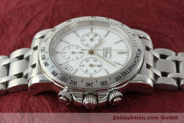 Used luxury watch Zenith Elprimero chronograph steel automatic Kal. 400 Ref. 02.0360.400  | 143031 05