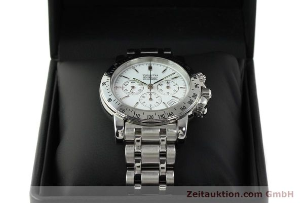 Used luxury watch Zenith Elprimero chronograph steel automatic Kal. 400 Ref. 02.0360.400  | 143031 07