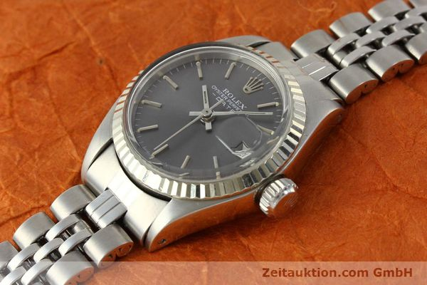 Used luxury watch Rolex Lady Date steel / white gold automatic Kal. 2030 Ref. 6917  | 143034 01