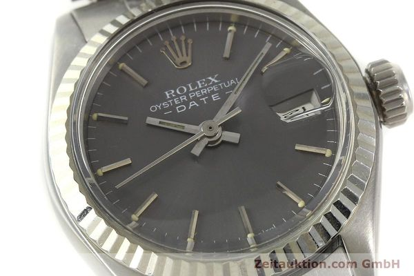 Used luxury watch Rolex Lady Date steel / white gold automatic Kal. 2030 Ref. 6917  | 143034 02