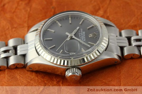 Used luxury watch Rolex Lady Date steel / white gold automatic Kal. 2030 Ref. 6917  | 143034 05