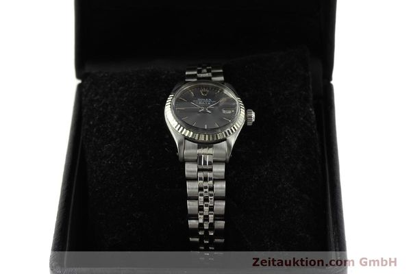 Used luxury watch Rolex Lady Date steel / white gold automatic Kal. 2030 Ref. 6917  | 143034 07
