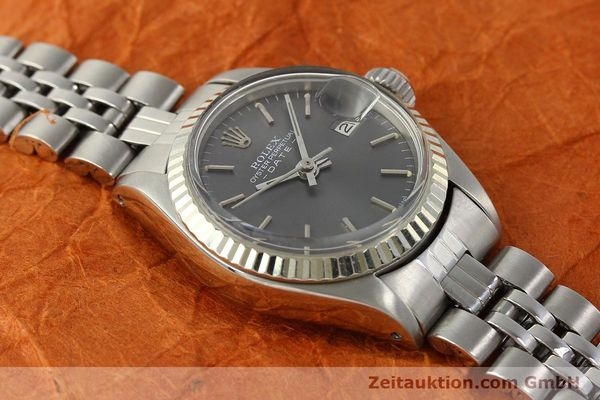 Used luxury watch Rolex Lady Date steel / white gold automatic Kal. 2030 Ref. 6917  | 143034 14