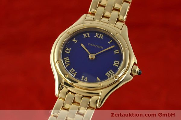 Used luxury watch Cartier Cougar 18 ct gold quartz Kal. 90.06  | 143037 04