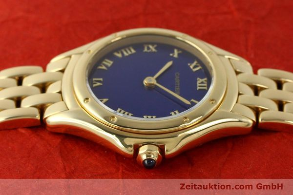 Used luxury watch Cartier Cougar 18 ct gold quartz Kal. 90.06  | 143037 05