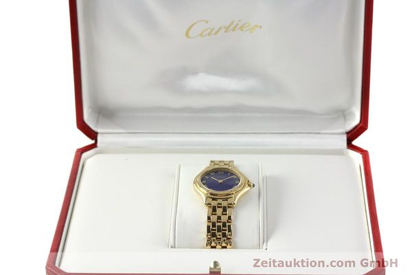 montre de luxe d occasion Cartier Cougar or 18 ct quartz Kal. 90.06  | 143037 07