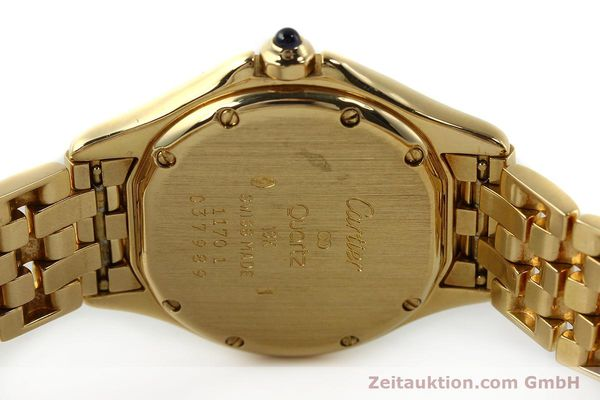 Used luxury watch Cartier Cougar 18 ct gold quartz Kal. 90.06  | 143037 09
