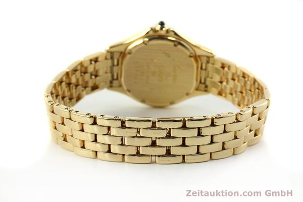 Used luxury watch Cartier Cougar 18 ct gold quartz Kal. 90.06  | 143037 12