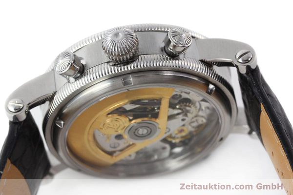 Used luxury watch Chronoswiss Tora chronograph steel automatic Kal. 743 Ref. CH7423  | 143038 11