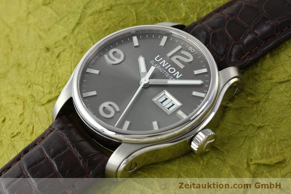Used luxury watch Union Glashütte Belisar steel automatic Kal. U2896 Ref. D002.426A  | 143040 01