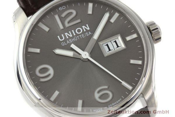 Used luxury watch Union Glashütte Belisar steel automatic Kal. U2896 Ref. D002.426A  | 143040 02