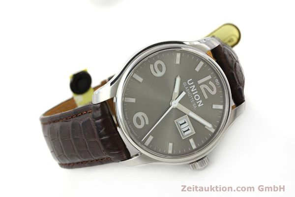Used luxury watch Union Glashütte Belisar steel automatic Kal. U2896 Ref. D002.426A  | 143040 03