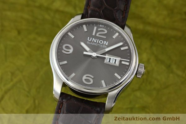 Used luxury watch Union Glashütte Belisar steel automatic Kal. U2896 Ref. D002.426A  | 143040 04