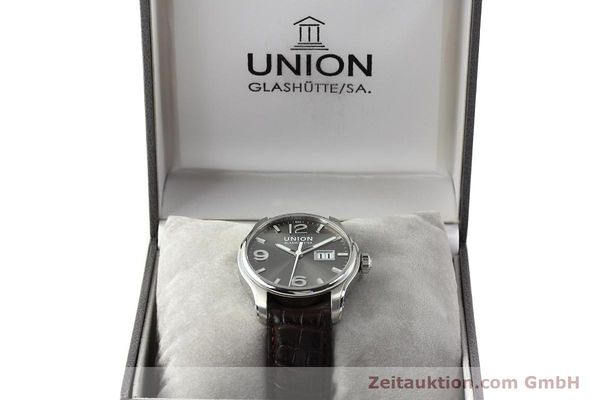 Used luxury watch Union Glashütte Belisar steel automatic Kal. U2896 Ref. D002.426A  | 143040 07
