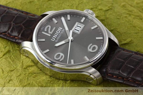Used luxury watch Union Glashütte Belisar steel automatic Kal. U2896 Ref. D002.426A  | 143040 15