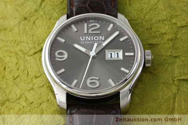Used luxury watch Union Glashütte Belisar steel automatic Kal. U2896 Ref. D002.426A  | 143040 16