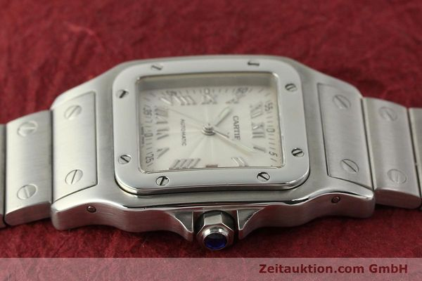 Used luxury watch Cartier Santos steel automatic Kal. 120 ETA 2000-1  | 143042 05