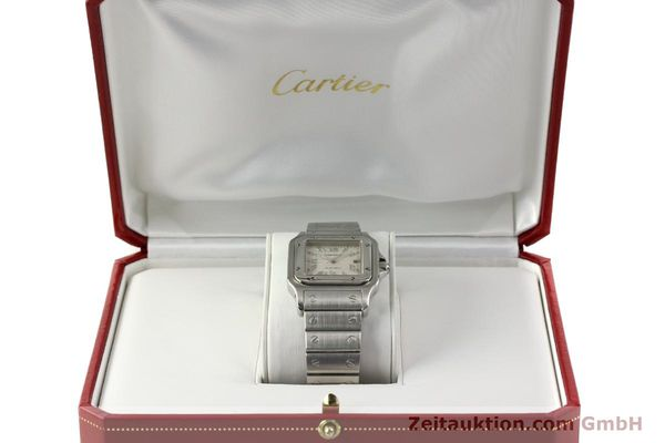 Used luxury watch Cartier Santos steel automatic Kal. 120 ETA 2000-1  | 143042 07