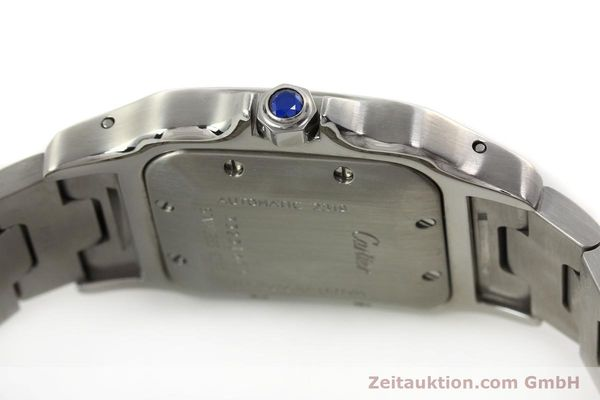 Used luxury watch Cartier Santos steel automatic Kal. 120 ETA 2000-1  | 143042 11