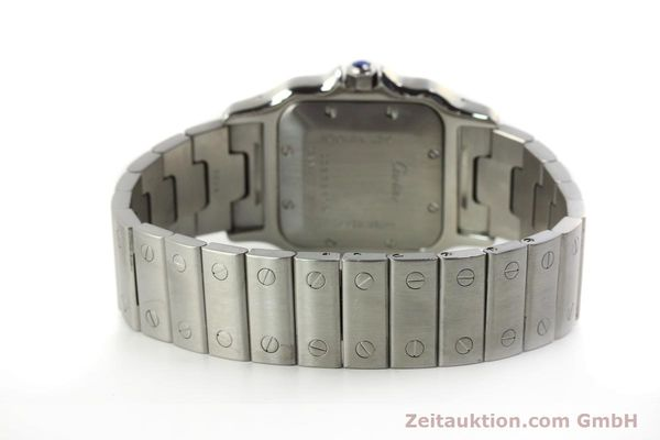 Used luxury watch Cartier Santos steel automatic Kal. 120 ETA 2000-1  | 143042 12
