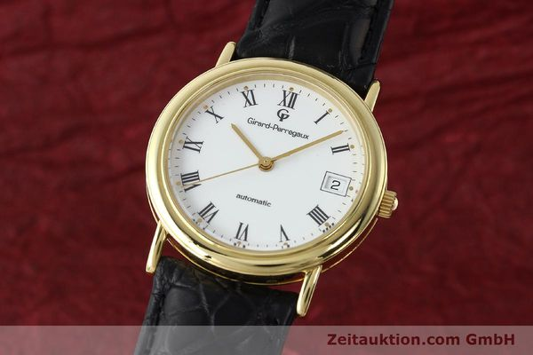 montre de luxe d occasion Girard Perregaux * or 18 ct automatique Kal. 220  | 143043 04