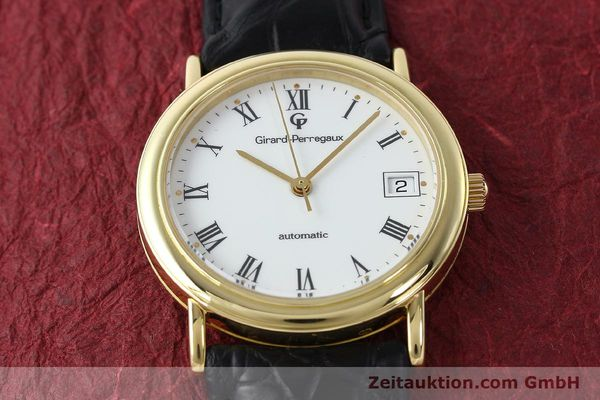 Used luxury watch Girard Perregaux * 18 ct gold automatic Kal. 220  | 143043 15