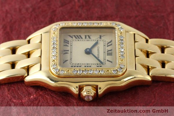 Used luxury watch Cartier Panthere 18 ct gold quartz Kal. 057  | 143047 05