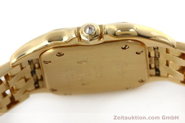 Used luxury watch Cartier Panthere 18 ct gold quartz Kal. 057  | 143047 08