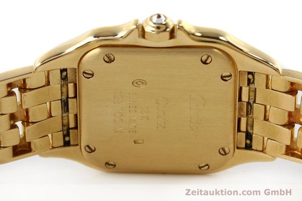 Used luxury watch Cartier Panthere 18 ct gold quartz Kal. 057  | 143047 09