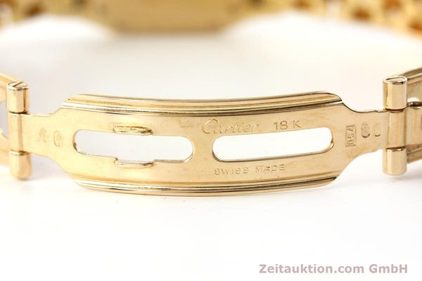Used luxury watch Cartier Panthere 18 ct gold quartz Kal. 057  | 143047 11