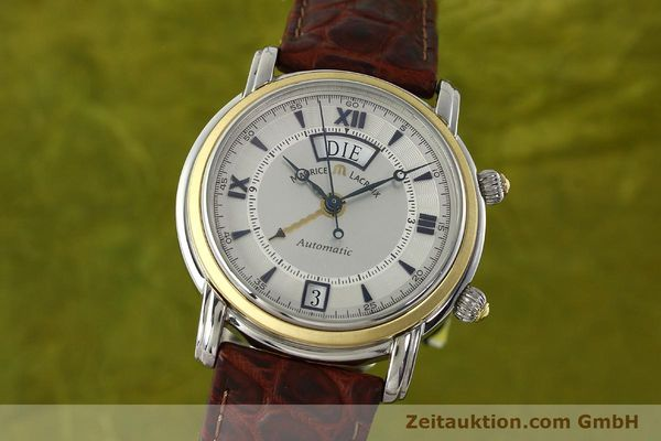 Used luxury watch Maurice Lacroix Masterpiece steel / gold automatic Kal. ML20 AS Ref. AE84240  | 143049 04