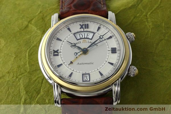 Used luxury watch Maurice Lacroix Masterpiece steel / gold automatic Kal. ML20 AS Ref. AE84240  | 143049 15