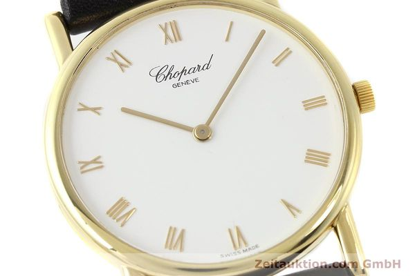 Used luxury watch Chopard * 18 ct gold manual winding Kal. 839  | 143051 02