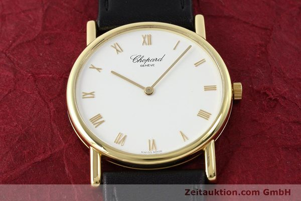 Used luxury watch Chopard * 18 ct gold manual winding Kal. 839  | 143051 14