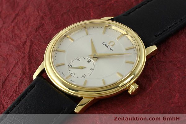 Used luxury watch Omega De Ville 18 ct gold manual winding Kal. 651  | 143054 01