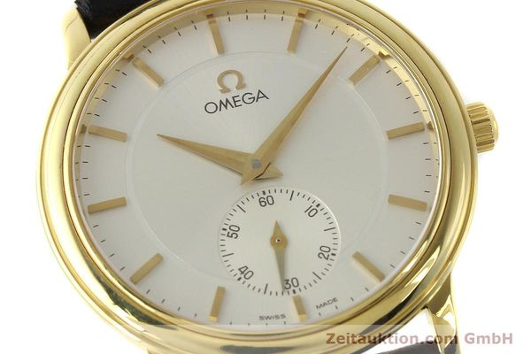 Used luxury watch Omega De Ville 18 ct gold manual winding Kal. 651  | 143054 02