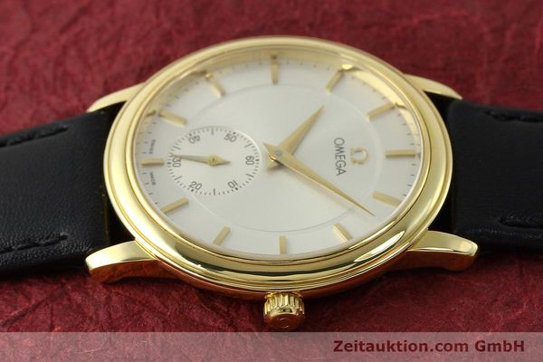 Used luxury watch Omega De Ville 18 ct gold manual winding Kal. 651  | 143054 05