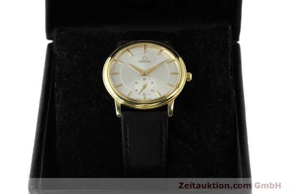 Used luxury watch Omega De Ville 18 ct gold manual winding Kal. 651  | 143054 07