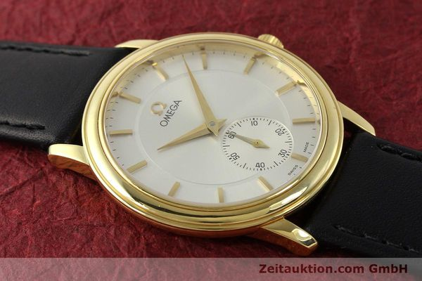 Used luxury watch Omega De Ville 18 ct gold manual winding Kal. 651  | 143054 13