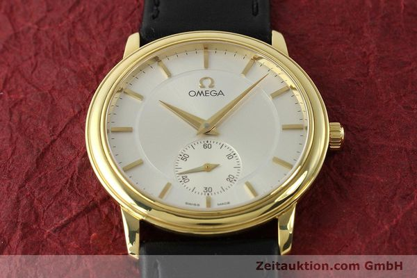Used luxury watch Omega De Ville 18 ct gold manual winding Kal. 651  | 143054 14