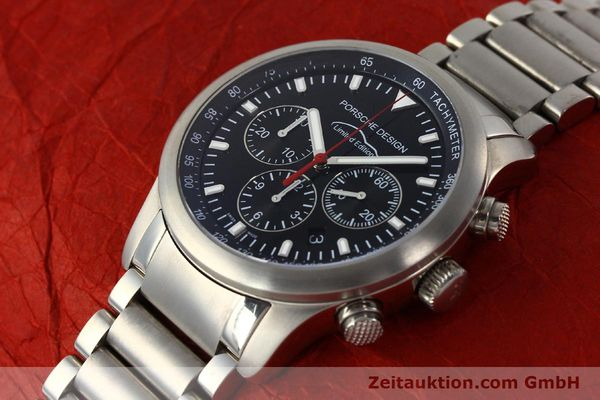 Used luxury watch Porsche Design Dashbord chronograph titanium automatic Kal. ETA 2894-2 Ref. 157.549  | 143055 01
