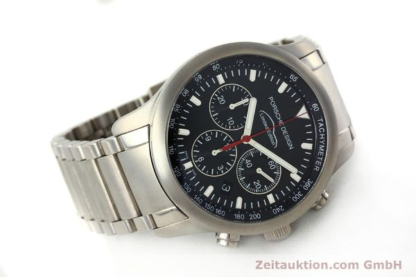 Used luxury watch Porsche Design Dashbord chronograph titanium automatic Kal. ETA 2894-2 Ref. 157.549  | 143055 03