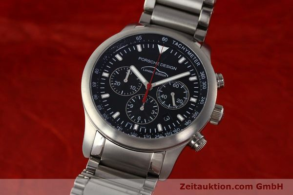 Used luxury watch Porsche Design Dashbord chronograph titanium automatic Kal. ETA 2894-2 Ref. 157.549  | 143055 04