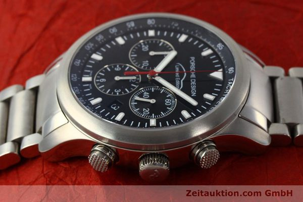 Used luxury watch Porsche Design Dashbord chronograph titanium automatic Kal. ETA 2894-2 Ref. 157.549  | 143055 05
